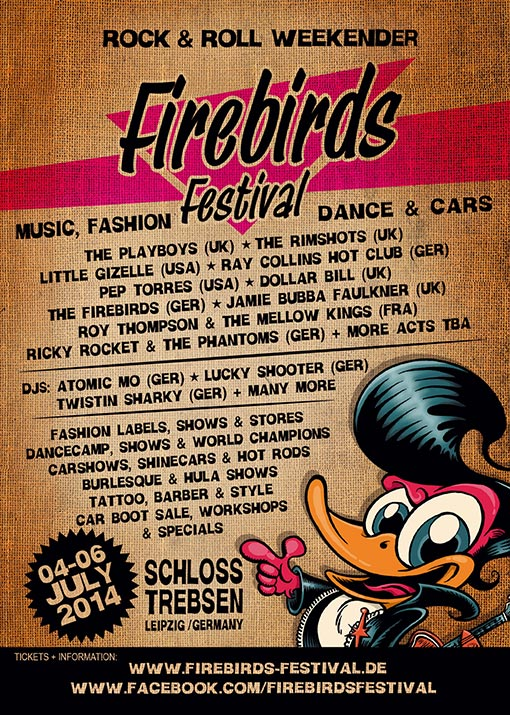 The Firebirds Festival |Rockabilly Rendezvous Kulturmagazin