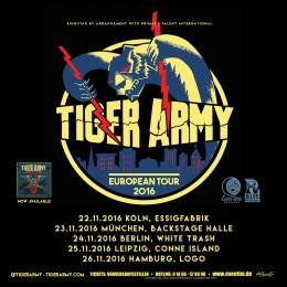 Tiger Army Tour 2016
