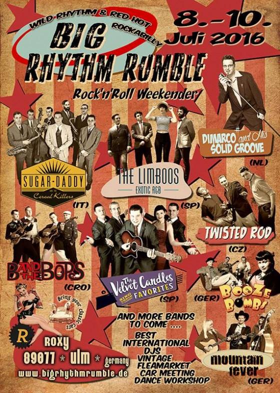 Big Rhythm Rumble 2016