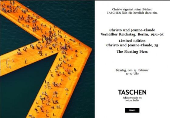 Christo Einladung Berlin