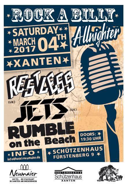 Rockabilly Allnighter Xanten 04032017