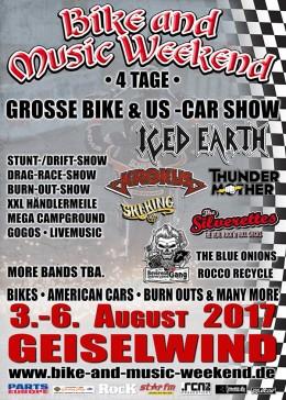 Bike and Music Weekend 2017